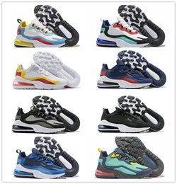 sneakers uomo NZ - High Quality Newest 270s Mens Designer Running Shoes Chassures Homme Reacts Man Outdoor Sport Trainers Scarpe Uomo Sneakers Size 7-11