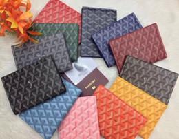$enCountryForm.capitalKeyWord Australia - GO home leather high quality cowhide passport holder passport bag portable multi-function document package Card Holders