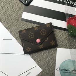 Wholesale Designer brand Women Mini classic Wallet Female Multi card Card Holder Purse Men Fashion retro Wallet Shopping High capacity vintage Purse