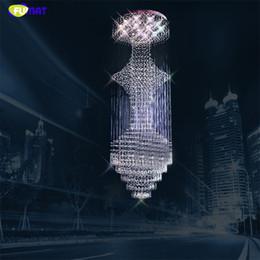$enCountryForm.capitalKeyWord UK - FUMAT K9 Crystal Stair Chandeliers GU10 LED Modern Creative Spiral Art Deco Suspension Lighting Hotel Villa Lobby Large Hanging Lamp