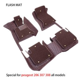 3008 accessories 2020 - Special car floor mats for 308 508 206 207 301 307 sw 407 408 2008 3008 4008 5008 car accessories mats discount 3008 acc
