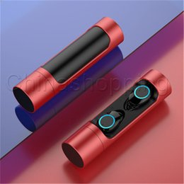 Universal mini power bank online shopping - X8 TWS Mini Bluetooth Wireless Earphones Deep Bass Earbuds Waterproof Headphones with Power Bank Charging Box for IOS Android