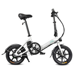 inch tires UK - FIIDO D3 Folding Electric Moped Bike Three Riding Modes 14 Inch Tires 250W Motor 25km h 7.8Ah Lithium Battery 25-40KM Range