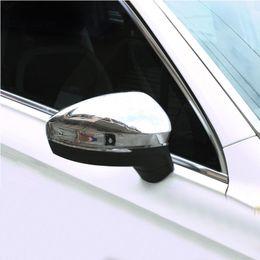 $enCountryForm.capitalKeyWord Australia - FOR Tiguan 2018 chrome rearview mirror housing Tiguan MK2 modified reversing mirror cover accessories Tiguan 2017 car stickers