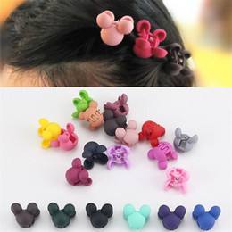 $enCountryForm.capitalKeyWord NZ - wholesale Cartoon Flower Cute Rabbit Children Hair Gripper Lovely Candy Color Mini Scrub Small Crabs Hair Claw Flower Hair