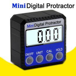 Digital Protractor Inclinometer Level Box Waterproof Angle Finder Measure Bevel Box Goniometer Magnet Gauge Ruler on Sale