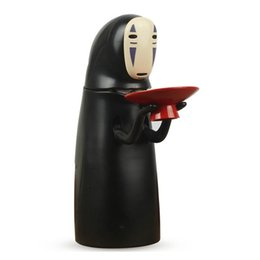 $enCountryForm.capitalKeyWord UK - Electronic Faceless Man Ghost Figure Cartoon No-face Piggy Bank Saving Box Coin Musical Safe Money Child Funny Gift Q190606