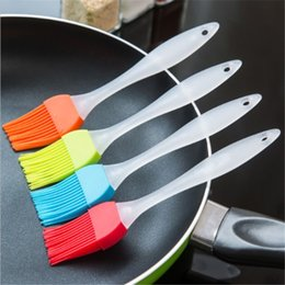 $enCountryForm.capitalKeyWord Australia - 5 Colors Newest Silicone Baking Bakeware Bread Cook Brushes Pastry Oil BBQ Basting Brush Tool Kitchen Accessories Gadget