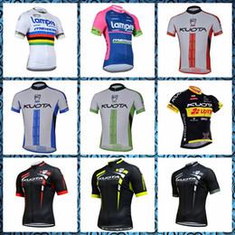 Discount team lampre bike - KUOTA LAMPRE team Cycling Short Sleeves jersey road bike racing clothing bicycle clothing Summer short sleeve riding shi