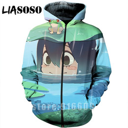 Discount pink dj shirts - Hoodie 3D Print homme Men dj women My Hero Academia Boku no hero Harajuku Sweatshirt shirt zipper anime Long sleeve Hood