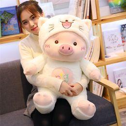 $enCountryForm.capitalKeyWord NZ - 20170601 New Sale Plush Pig Stuffed Pillow Cushion Cute For Girls Gift Toy Doll Free Shipping