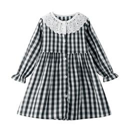 Großhandel Mädchen Weihnachten Casual Kleider Baumwolle gestreiften Cartoon applizierten Blumen gedruckt Jersey Playwear Kleider Cute Baby Clothing Party Dress