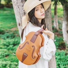 $enCountryForm.capitalKeyWord Australia - 2019 new Violin simulation package styling bag female college shoulder bag portable handbags musical notes handle clutch bag leisure bags