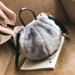 c79c4273ff Fashion Faux Fur Leather Women Shoulder Bags Small Bucket Female Crossbody  Bag Brand Designer Women Handbags Lady Tote Bag