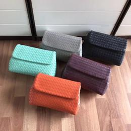High End Hand Bags Australia - Classic hot-selling ladies handbags Italian designer cross-body bag high-end custom hand-woven soft feel Lady's mouth cover