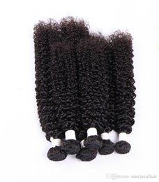 Tight Curly UK - Elibess Brand Remy Hair Jerry Kinky Curly Virgin Hair Tight Curly Weave 3pieces Lot Cheap price Human Hair Bundles, free Shipping