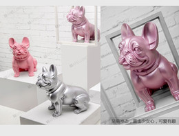 plastic bulldogs Australia - Hot Sale 8 Designs Plastic French Bulldog Dog Mannequin For Pet Display EMS Shipping Color Made By Hand