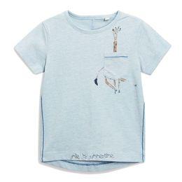 Toddler coTTon TshirTs online shopping - 2019 Summer Toddler Baby Boys Girls T Cotton Short Sleeved tshirts Kids Casual Fashion Cartoon Giraffe Printed T Shirts