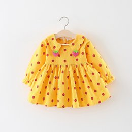 Quality In 2019 New Brand Toddler Kids Baby Girl Summer Clothes Short Sleeve Party Wedding Holiday Dot Dress Outfits 0-3y Superior