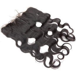 China 13x4 Ear to Ear Lace Frontal Closure Body Wave Burmese Virgin Remy Hair Pieces Straight Curly for Sale Online Free Drop Shipping 8-20inches suppliers