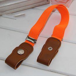 $enCountryForm.capitalKeyWord NZ - High Quality Clothing Accessories Children Anti Deduction Belt Baby Nursery Candy Color Jeans Belts Girls Boys Elastic Belts