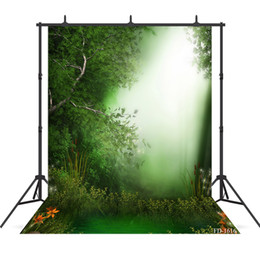 background paintings UK - lake photography background forest backdrop portrait for photo shoot vinyl cloth photo backdrops photo shoot