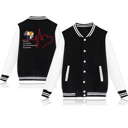 girls baseball uniforms NZ - Greys Anatomy Baseball Jacket Teenager Boys Girls Jackets 2019 Spring Autumn Winter Baby Jackets Uniform Casual Coat Sportwear