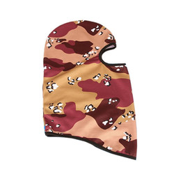 China Outdoor Sports Riding Headband Jungle Camouflage Mask Bicycle Windproof Riding Mask Breathable Warm Windproof Masks Headgear cheap wholesale pink camouflage caps suppliers