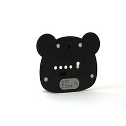 Panda mirror online shopping - Multi Function Lovely Cute Panda Design Mirror Surface Digital Small Alarm Clock Led Mirror Electronic Panda Alarm Clock