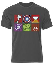 $enCountryForm.capitalKeyWord Australia - The Avengers Inspired Marvel Pop Art Assemble Heros Iron Man Tshirt Tee Top AE76 Men Women Unisex Fashion tshirt Free Shipping Funny