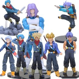 trunks action figures 2019 - Toys Hobbies Action Toy Figures Dragon Ball Z Super Saiyan Trunks Soul Figure dragonball DXF Resolution of Soldiers Volu