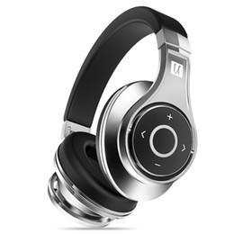 Discount high end bluetooth headset - Bluedio U(UFO)Bluetooth headphone High-End Genuine Patented 8 Drivers 3D Sound Aluminum alloy Over-Ear wireless headset
