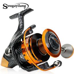 Gear Spinning Australia - Fishing Reels Sougayilang 1000-7000L Carp Reels Speed 5.3:1 Gear Ratio Right Left Hand Sea Fishing Reel Saltwater Freshwater Spinning Reel
