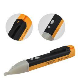 Voltage Indicator Socket Wall AC Power Outlet Voltage Detector Sensor Tester Pen LED Light 90-1000V Power Tools CCA11676 50pcs on Sale