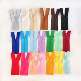 Bjd doll diy accessories mini-zipper 0# plastic mini zippers 7cm 10cm gauze zipper for doll accessories on Sale