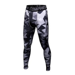 7d704dfae1 3D Printed Camouflage Joggers Leggings Men Quick Dry Compression Pants Gyms  Fitness Tights Casual Crossfit Trousers Long Pants