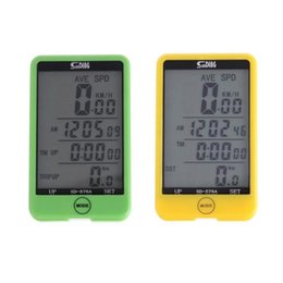 $enCountryForm.capitalKeyWord Australia - SUNDING SD-576A Wired Bicycle Computer Waterproof LCD Backlit Touch Screen Bike Odometer Speedometer Cycling Parts #738411