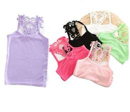 $enCountryForm.capitalKeyWord Australia - 2019 Cotton Tops For Girls Colored Kids Underwear Girls Undershirt 2-14 Years Children T-shirt Baby Shirts Clothing