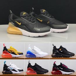 Venta al por mayor de nike air max 270 270s 27c airmax Nuevo color Zapatillas de deporte para niños Zapatillas de deporte Zapatillas de deporte para niños Zapatillas de deporte para caminar para mujeres