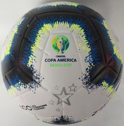 Wholesale 2019 Copa America soccer ball Final KYIV PU size 5 balls granules slip-resistant football Free shipping high quality ball