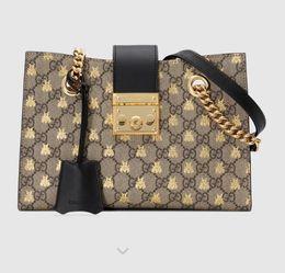 Heart padlocks online shopping - small Padlock series bee shoulder bag Handles Boston Totes Shoulder Crossbody Bags Belt Bags Backpacks Luggage Lifestyle Bags