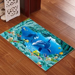 $enCountryForm.capitalKeyWord Australia - Printed Bathroom Mat 3D Rug Kit Non-slip Bath Mats Floor Carpet Pet Pad Large Size Door Floor Seat Mattress for Decor Doormats