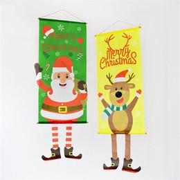 $enCountryForm.capitalKeyWord Australia - Nordic Fabric Christmas Decorations Pendant Santa Claus Restaurant Elk Jewelry Wall Hanging Painting Window