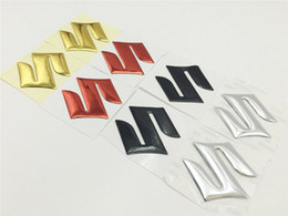 3D S Logo Emblem Decal Gas Tank Fairing For Suzuki Stickers Badge Motorcycle Car on Sale