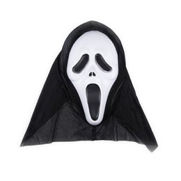 Red Cosplay UK - Halloween Party Full Face Masks Fancy Dress Adult Costume Accessory Plastic Party Cosplay Masks