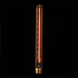 Filament bulb pendant lights online shopping - 60W Retro Edison Bulb E27 T30 mm Filament Incandescent Light for Bar Decor Pendant Lamp Lighting Lampada AC110V V