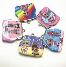 $enCountryForm.capitalKeyWord Australia - Surprise Girls Designer Luxury Handbags Purses Iron Clip Cartoon Wallets Children Coin Purse Kids Lovely Gift Gags Credit Card Holder B71003