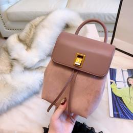 Ladies Metallic Handbags NZ - backpacks designer 2019 fashion women lady black color bags handbags for girls school bag women luxury Designer shoulder bags purse freeship