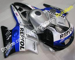Honda F2 1991 Australia - ABS Plastic Fairings For Honda Parts CBR600 CBR 600 F2 1991 1992 1993 1994 CBR600F2 Popular Silver Blue Black Motorbike Fairing Kit