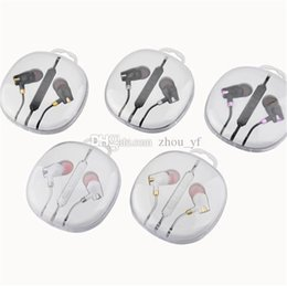 earset iphone Australia - Universal 3.5mm In-ear Earphone Earbuds With Mic & Volume Control Earset headphone for iphone 5 6 6s Samsung s6 s7 s8 andoird phone